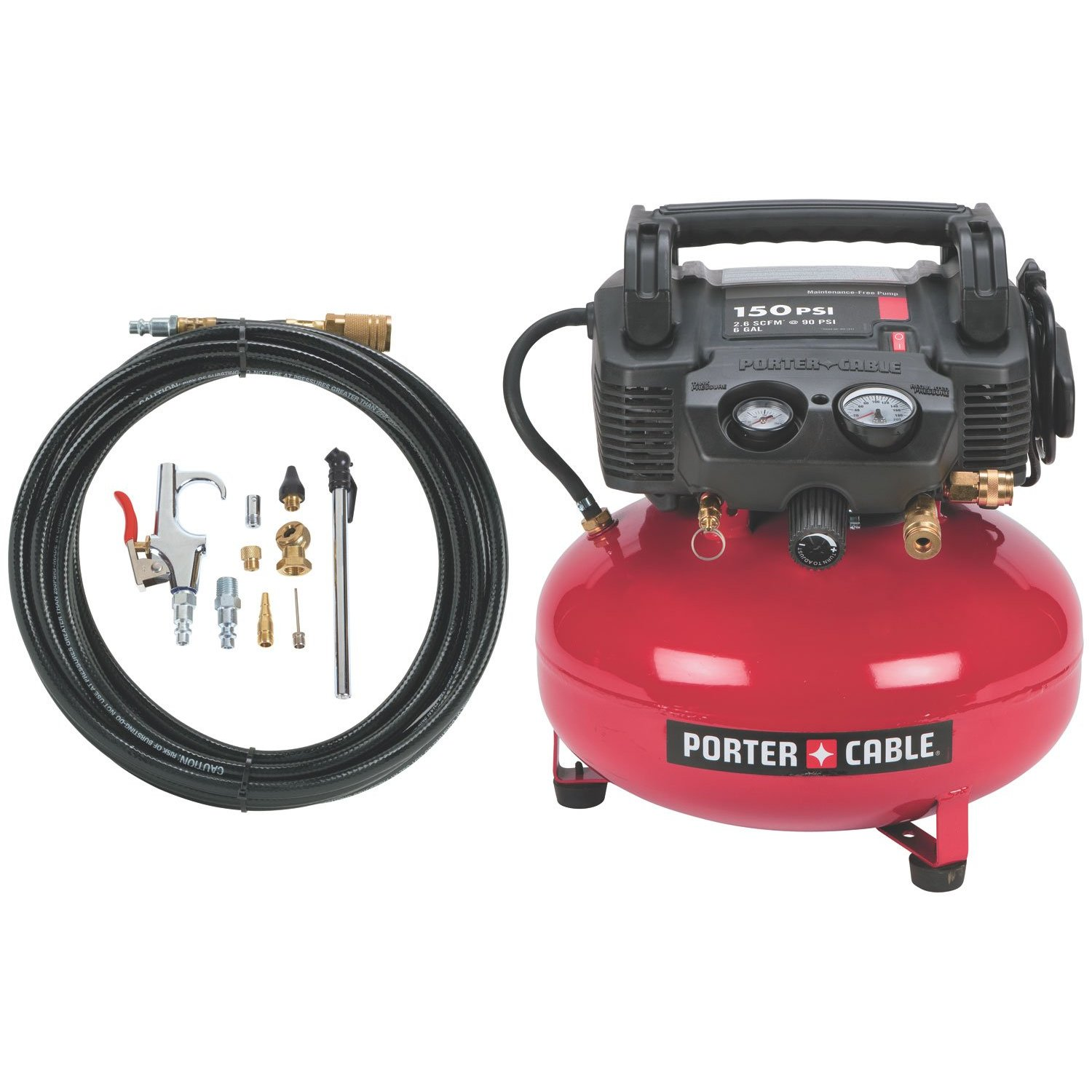 Porter cable pcfp12234 review for Can i use motor oil in my air compressor