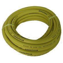 GoodYear 045 3/8-Inch by 50 Feet Safety Yellow Rubber Hose