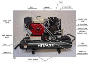 Hitachi EC2510e parts
