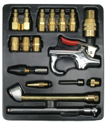 Ampro A1460 18-Piece Air Tool Accessory Kit Milton Type Review