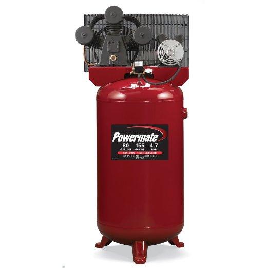 Powermate Vx PLA4708065 80-Gallon Electric Air Compressor Review